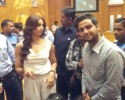 bipasha basu at india tv wid nrai students